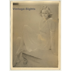 Léon Eygelshoven (1882-1967): Female Study *1 (Vintage Photo...