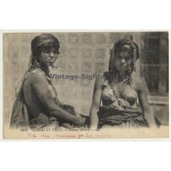 Maghreb: Femmes Arabes / Headdress - Risqué - Ethnic (Vintage...