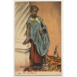 Maghreb: Jeune Negresse / Traditional Costume - Ethnic...