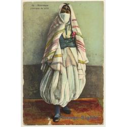 Maghreb: Mauresque (Costume De Ville) / Veil - Ethnic (Vintage...