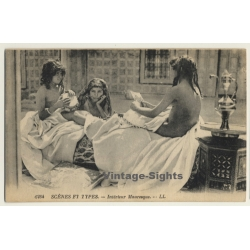 Maghreb: Interérieur Mauresque / Risqué - Ethnic (Vintage PC...