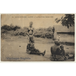 Alépé / Cote D'Ivoire: Culture D'Une Femme Attié / Risqué -...