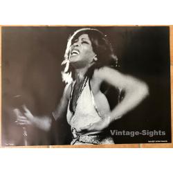 Tina Turner on Stage (Vintage Concert Poster 1970s)