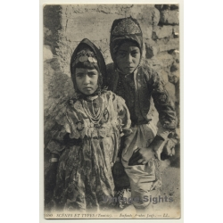 Scènes Et Types 6480: Jewis Arab Children / Judaica - Ethnic...