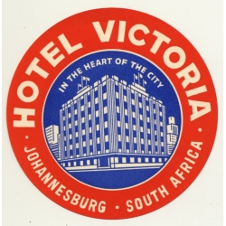 Johannesburg / South Africa: Hotel Victoria (Vintage Luggage...