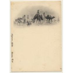 Algeria: Desert Caravan / Camels & Nomads (Vintage PC 1897)