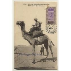 Afrique Occidentale Francaise: Méhariste Soudanais (Vintage PC...
