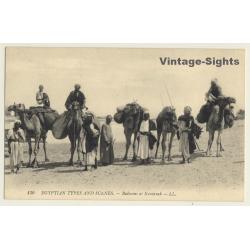 130 Egyptian Scènes Et Types: Bedouins At Kantarah / Camel...