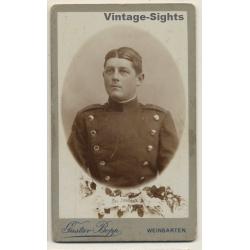 Gustav Bopp / Weingarten: Soldier - Uniform - Haircut (Vintage...