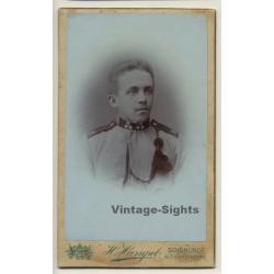 H.Hampel / Schönlinde: Young Soldier - Uniform (Vintage CDV /...