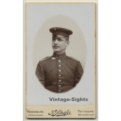 K.Schäfer / Ravensburg: Soldier - Uniform - Moustache (Vintage...