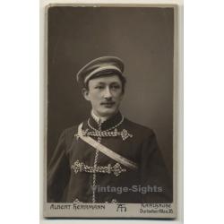 A.Herrmann / Karlsruhe: Soldier - Uniform - Semper Prosus...