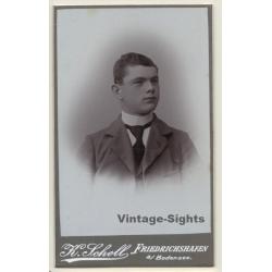 K.Scholl / Friedrichshafen: Young Man - Tie - Suit (Vintage...