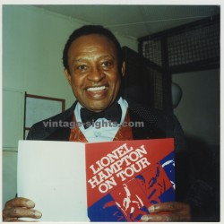 Lionel Hampton On Tour 1996 (Real Press Photo)