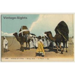 6380 Scènes Et Types: Mariage Arabe / Ethnic - Bedouins...