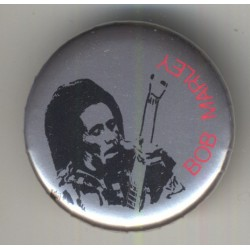 Bob Marley (Vintage Pinback Button Badge 1980s)
