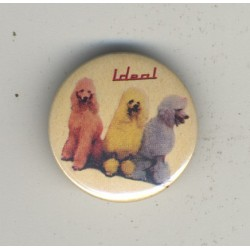 Ideal - Monotonie (Vintage Promo Pinback Button Badge 1982)