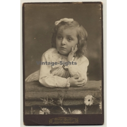 Atelier Apollo - F. Prügel / Dresden: Portrait Of Sweet Little...