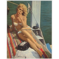 Brigitte Bardot - ISV PX 1 (Germany 1960s: Vintage Pin Up Card)