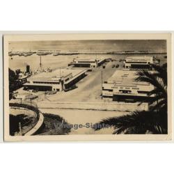 Oran / Algeria: Nouveau Port / Harbor (Vintage RPPC Field Post...