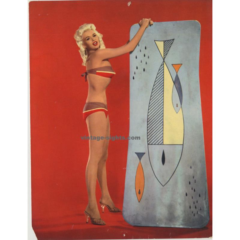Brigitte Bardot - ISV PX 6 (Germany 1960s: Vintage Pin Up Card)