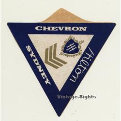 Sydney / Australia: Chevron Hilton Hotel (Vintage Self...