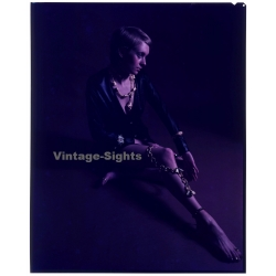 Shorthaired Woman / Jewelry - Fashion Shoot (Vintage Large...