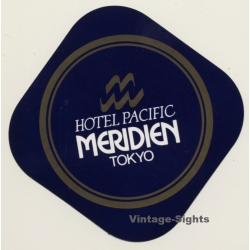 Tokyo / Japan: Hotel Pacific Meridien (Vintage Self Adhesive...