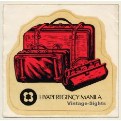 Manila / Philippines: Hyatt Regency Hotel (Vintage Self...