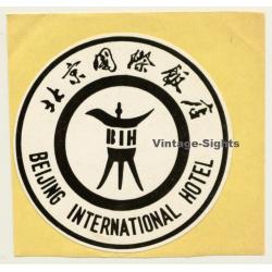 Beijing / China: BIH International Hotel (Vintage Self...
