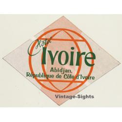 Abidjan / Ivory Coast: Hotel Ivoire (Vintage Self Adhesive...