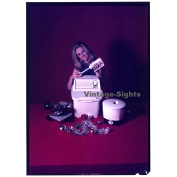 Female Model & Nova Miniwash, Toaster, Hand Blender (Vintage...
