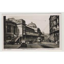 48005 Bilbao / Spain: Ribera Y Mercado San Antón (Vintage Postcard)