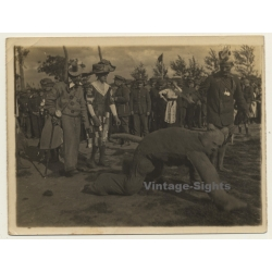 WW1: Soldiers At Carnival Parade / Dog Costume - Garbs...