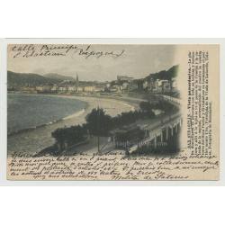 20005 San Sebastián / Spain: Vista Panorámico (Vintage Postcard)