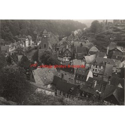 52156 Monschau/Germany: View Over Village 1963