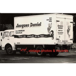 29238 Brignogan: Jacques Daniel / Lorry Of Local Fishmonger (Vintage Photo)
