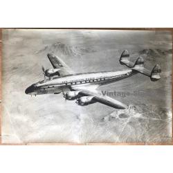 Pan Am NC88832 Lockheed 49 Constellation (Large Vintage Photo...
