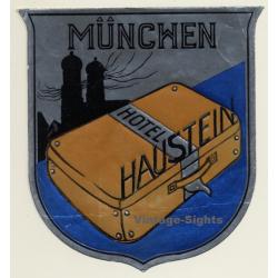 München - Munich / Germany: Hotel Haustein (Vintage Luggage...