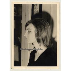 Portrait Of Pretty Young German Woman (Vintage Photo ~1960s)
