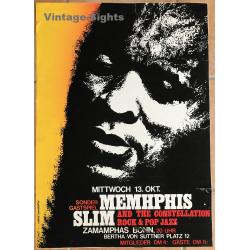 Memphis Slim & The Constellation / Zamamphas - Bonn (Vintage...