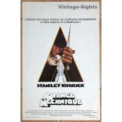 Stanley Kubrick: Clockwork Orange (Vintage Belgian Movie...