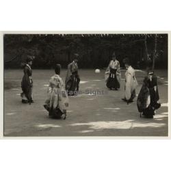 Men In Sokutai Costumes / Trad. Japanese Emperor's Court Dress...