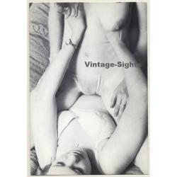 2 Semi Nudes In Lesbian Encounter*6 / Panties - Risqué...