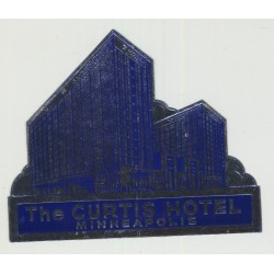 The Curtis Hotel - Minneapolis / USA (Vintage Luggage Label)