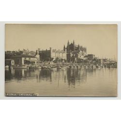 07001 La Lonja Y Catedral - Palma De Mallorca - Baleares / Spain (Vintage PC)