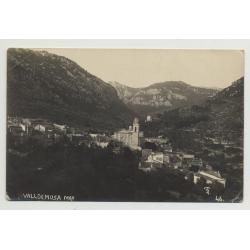 07170 View Over Valldemosa / Mallorca - Baleares / Spain (Vintage PC 1923)