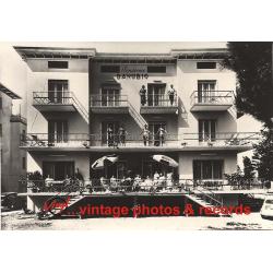 Pensione Danubio - 47838 Rimini / Italy (Vintage Photo 1959)