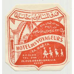 Hotel Semiramis - Capri / Italy (Vintage Luggage Label)