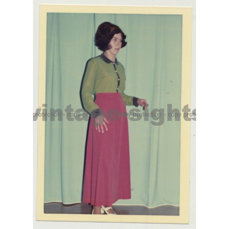 Series Of East German Fashion Photos 8: 1960s/1970s (Vintage Photo DDR)